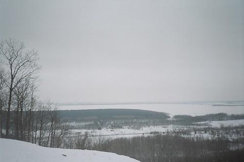 park winter lake québec laurentides lacdesdeuxmontagnes parcdoka mrcdeuxmontagnes
