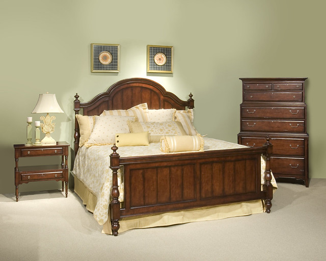 hpm s08 broyhill attic heirlooms fireside cherry bedroom