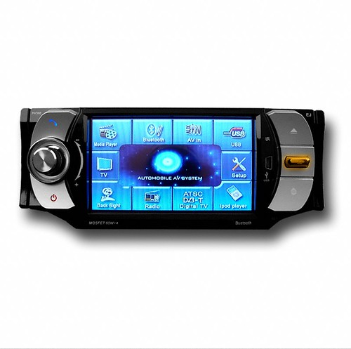 "DVD player + 4.3"" TFT LCD + Touch Screen + Bluetooth + RDS + TV"