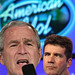 President Bush sings his heart out on a surprise appearance of American Idol but his poll ratings continue to plummet. by wbillard