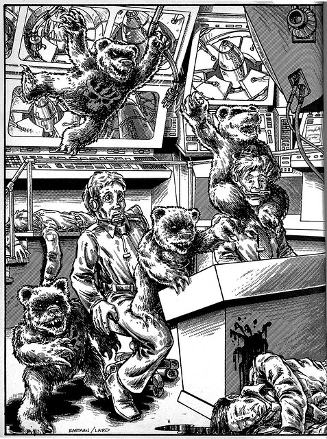 THE DOOMSDAY BEARS .. { The Terror Bears } by Kevin Eastman & Peter Laird from 'Teenage Mutant Ninja Turtles Adventures' by Erik Wujcik (( 1986 ))
