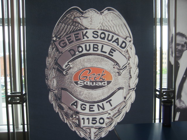 Geek Squad Deputy Badge Skills USA Booth - Gee...