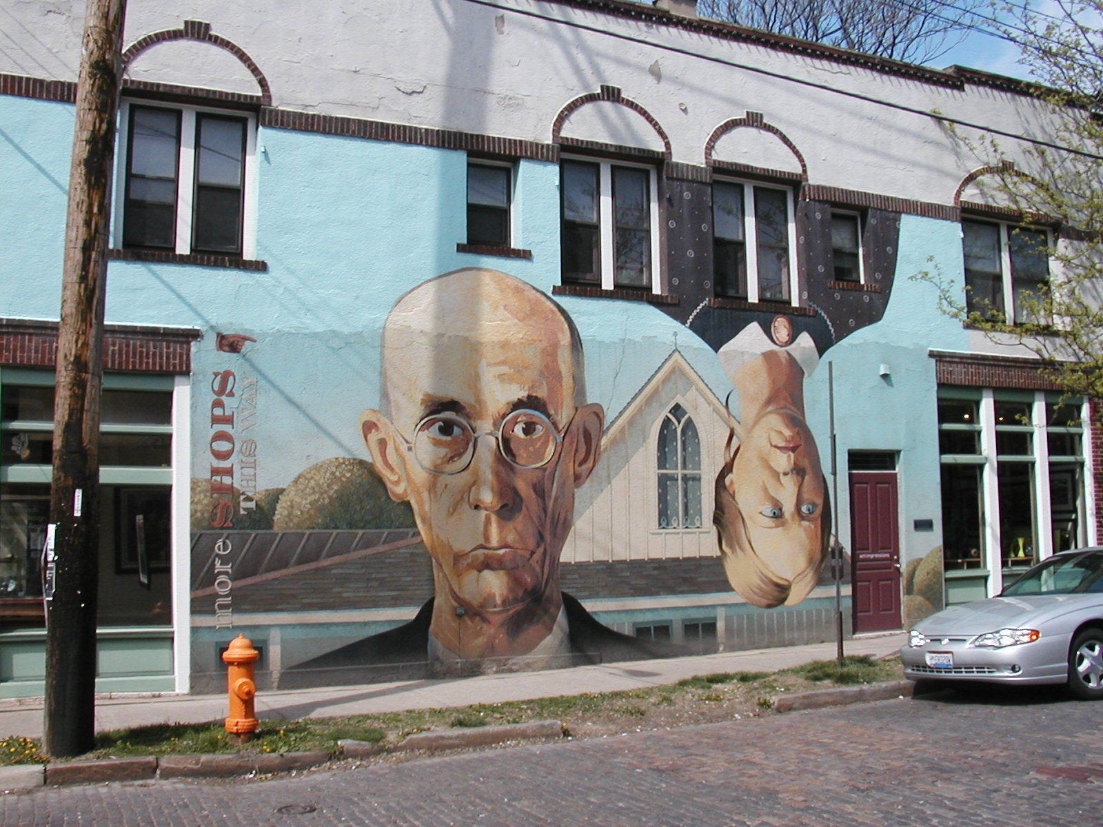 A play on the famous Grant Wood painting - Short North, Columbus, OH