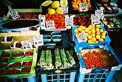 local fruit and vege