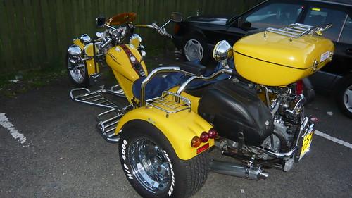 Harley Davidson Club at Fintry