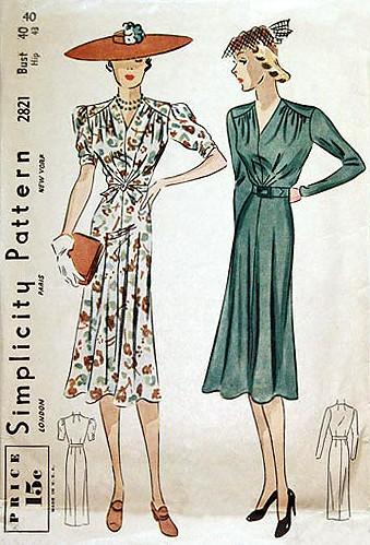 simplicity dress 2821