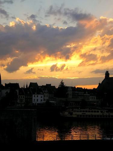 Sunset over the Maas II