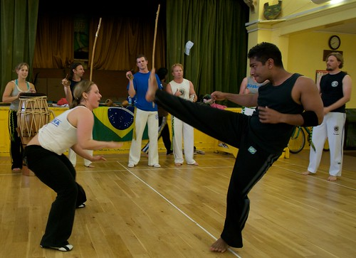 Capoeira Boot Camp Cornwall 2008