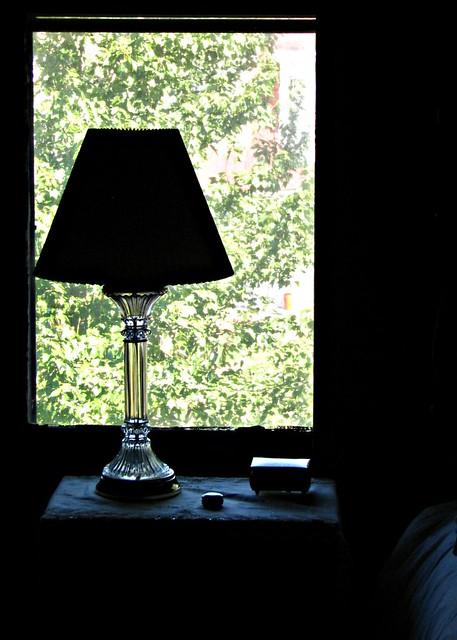 Bedside Lamp Glass Base