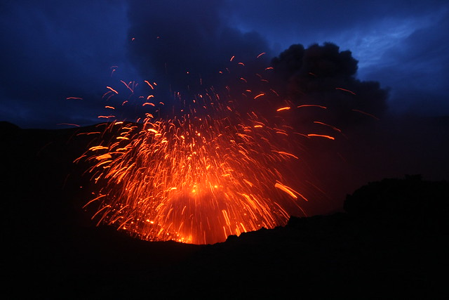 Volcano Eruption - Vanuatu