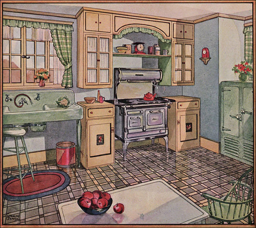 1928 Kitchen in American Home