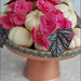 feminine fall centerpiece