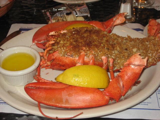 10.18.08 Bartleys -baked stuffed lobster | Flickr - Photo Sharing!
