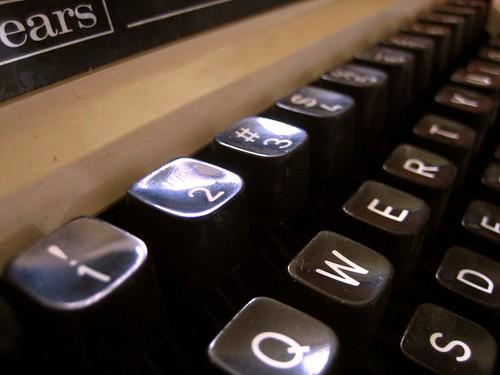 Sears Electric Typewriter: Detail