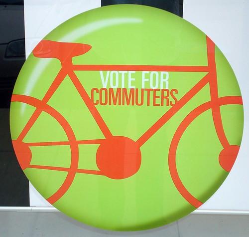 Vote Me commuters bike