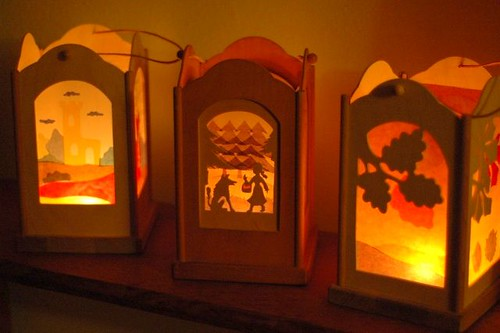 our martinmas lanterns
