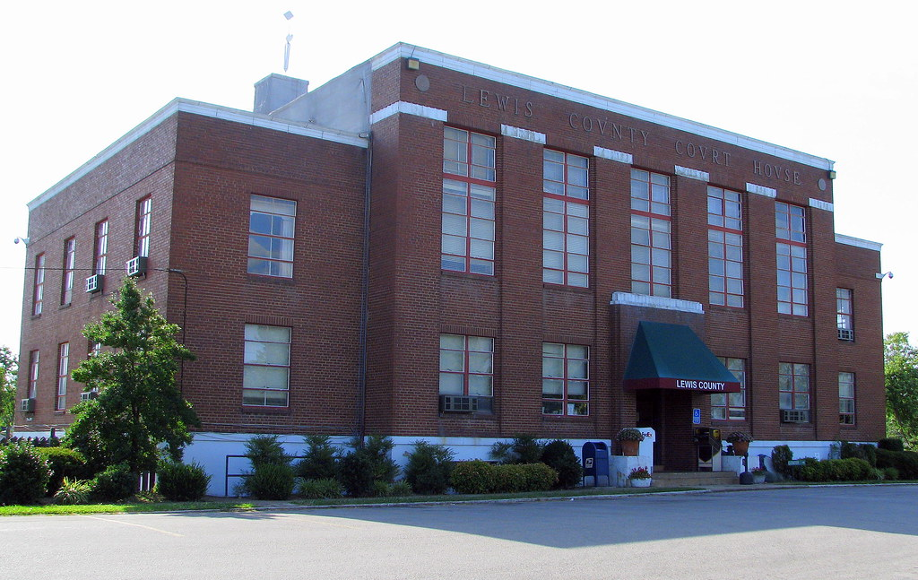 Image result for lewis county tn courthouse