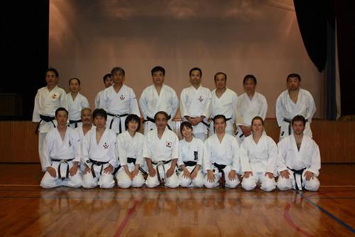 Takagi Sensei's dojo