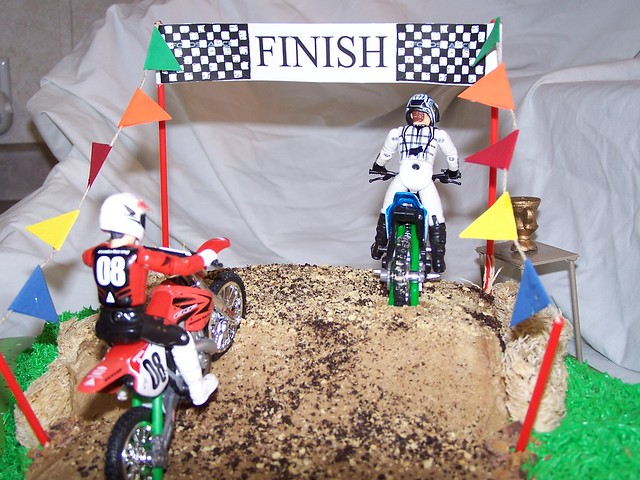 Throwing A Dirt Bike Themed Party Is Appropriate Quad Parties For Children Motocross Decorations How To Make Cake