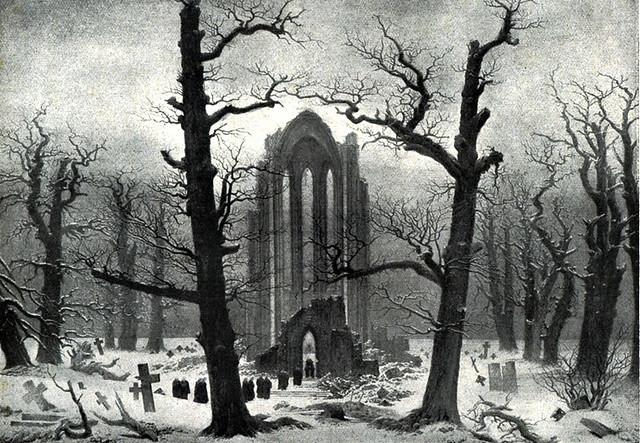 Zz Monastery Graveyard The Snow Caspar