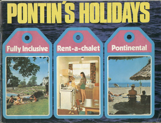 Pontins Brochure 1972 - Front cover