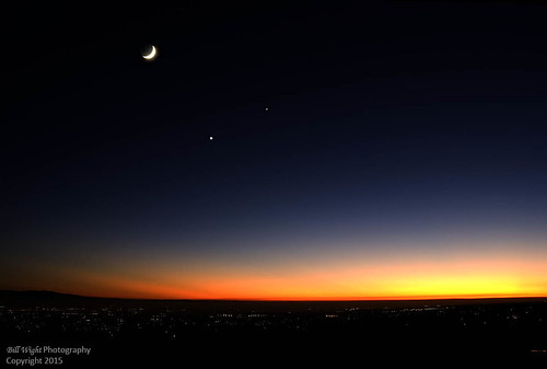 california nightphotography sunset moon venus planets astronomy nightsky jupiter viewing ranchocucamonga sanbernardinocounty celestialbodies conjunction altaloma billwight positionalastronomy