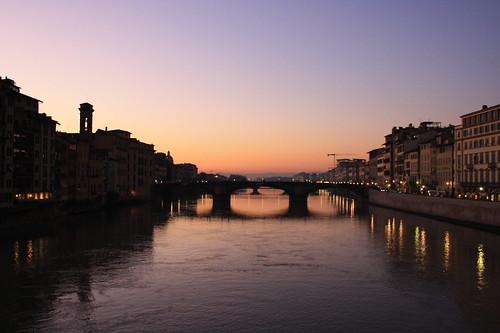 Tramonto da Ponte Vecchio
