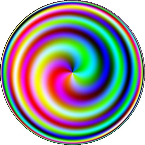Coloured spiral