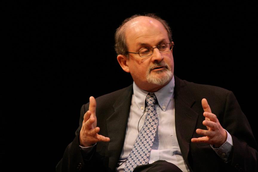 Salman Rushdie at the Asia Society