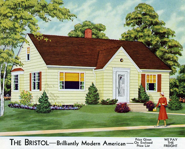 The bristol aladdin 1953 flickr photo sharing for 1950s bungalow floor plan