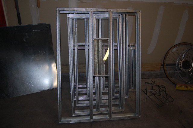 how to build a powder coating booth