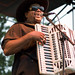 Nathan Williams and the Zydeco Cha Chas at 2009 Breaux Bridge Crawfish Festival
