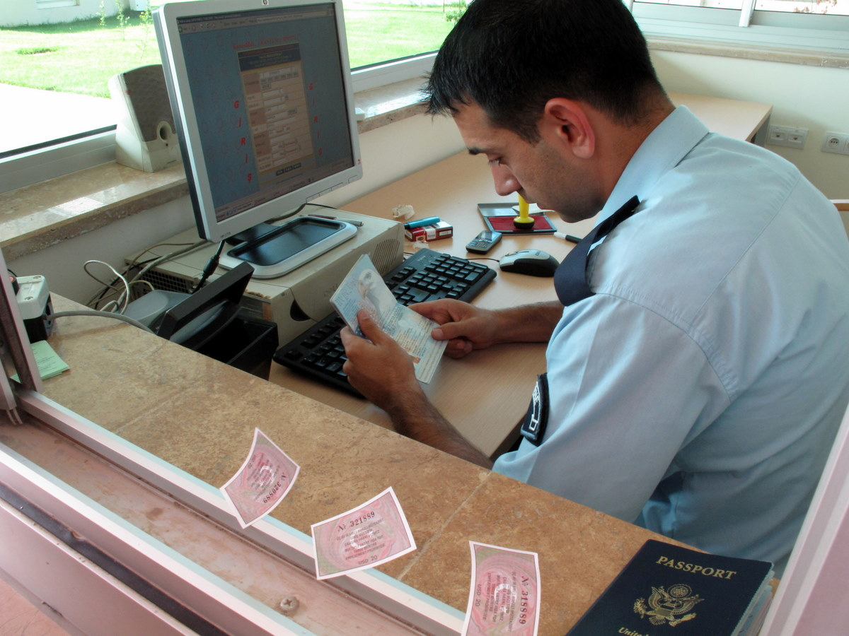 Turkey Passport Stamps