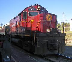 Van Buren Train Engine