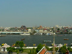Bangkok - view from Wat Arun