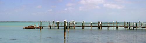 ocean sea vacation panorama docks island harbor seaside scenery florida floridakeys beautifulscenery littlepalmisland