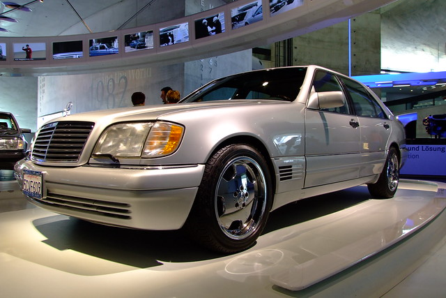 Mercedes benz museum 1995 mercedes s600 flickr photo for 1995 mercedes benz s600