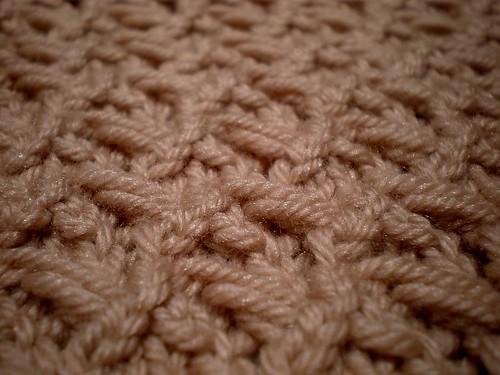Knitting Yrn P2tog : Vintage sampler blanket anna bright designs