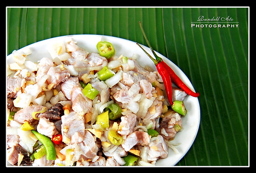 Kilawing Tangigue, Filipino, Philippines, Filipino Foods, Appetizer, Fx777, Fx777222999, Seafood, Salad