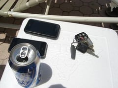 mmmm Beer and cell phones!