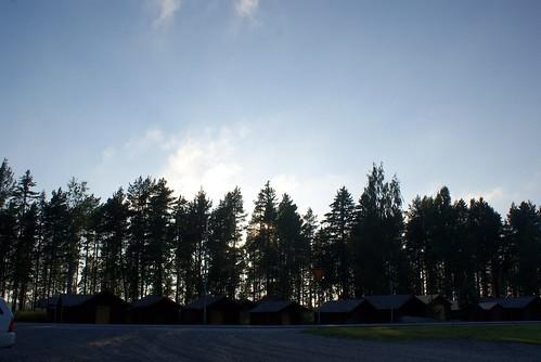 日落 阳光 傍晚 芬兰