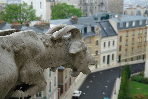 Gárgola en forma de Cabra Sacré Coeur, el balcón más bello de París - 2669323342 b852db1e0e - Sacré Coeur, el balcón más bello de París