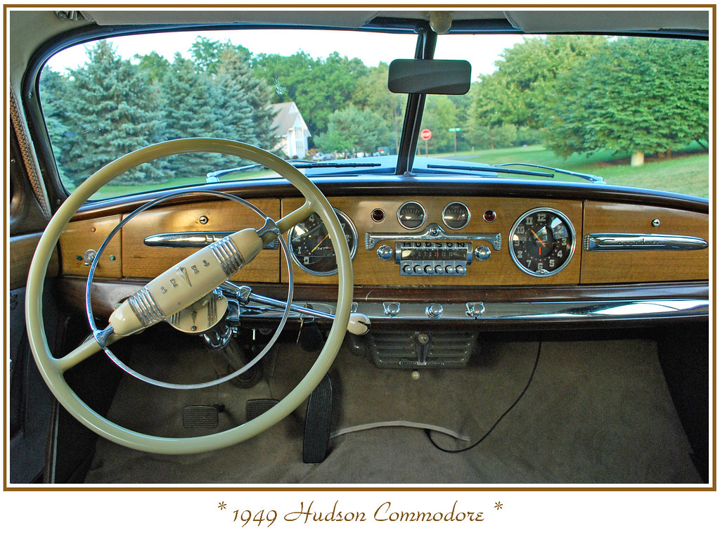 1949 Hudson Commodore Photographed At The Owners Home In Flickr