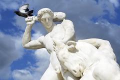 art, classical sculpture, sculpture, mythology, stone carving, monument, statue,