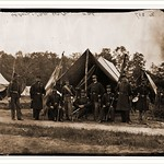 [Gettysburg Pennsylvania]. Field and staff officers 69th Pennsylvania Date: c. 1865