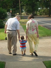 Walking with Julian