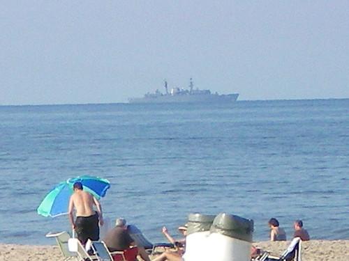 Cavalier Hotel / Beach - Aug. 2008