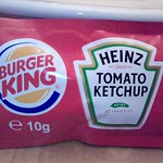 Burger King ketchup sauce