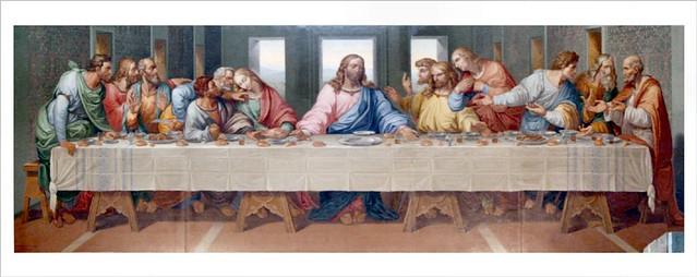 quot the last supper quot restored as by leonardo da vinci