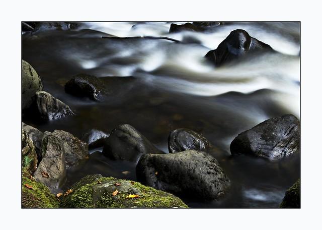 River Braan Perthshire Long Exposure